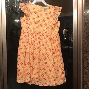 👗EUC BabyGAP flowered dress